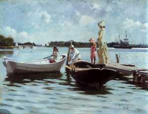 Albert Edelfelt - Summer in the Archipelago