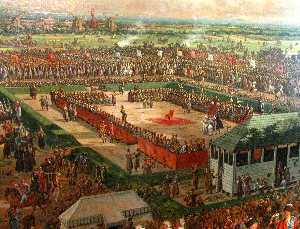 Bernardo Bellotto - Election of Stanislaw Aug..