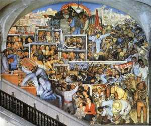 Diego Rivera - The History of Mexico - T..