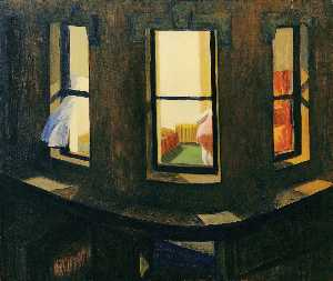 Edward Hopper - Night Windows