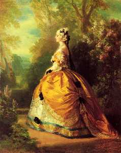 Franz Xaver Winterhalter - The Empress Eugénie