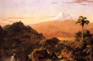 Frederic Edwin Church - South American Landscape