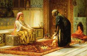 Frederick Arthur Bridgman - The First Steps