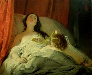 Friedrich Ritter Von Amerling - The Drowsy One