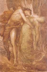 George Frederic Watts - Orpheus and Eurydice 1