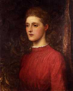 George Frederic Watts - Portrait Of A Lady