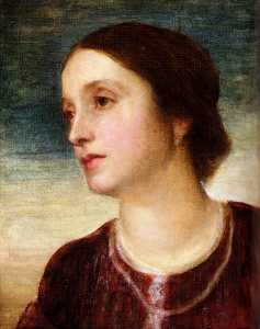 George Frederic Watts - Portrait Of The Countess ..