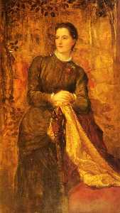 George Frederic Watts - The Honourable Mary Barin..