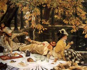 James Jacques Joseph Tissot - Holyday