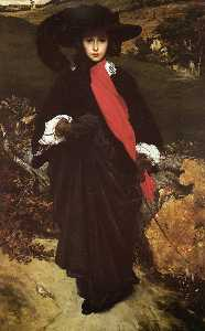 Lord Frederic Leighton - May Sartoris