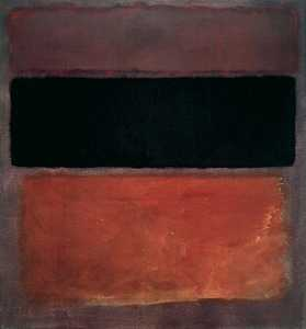 Mark Rothko (Marcus Rothk.. - No. 10 (Brown Black Sienn..