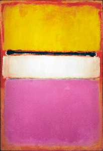 Mark Rothko (Marcus Rothk.. - White Center