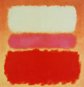 Mark Rothko (Marcus Rothk.. - White Cloud over Purple