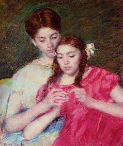 Mary Stevenson Cassatt - The Chrochet Lesson