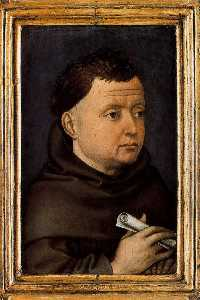 Robert Campin (Master Of Flemalle) - Portrait of a Man 1
