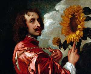 Anthony Van Dyck - Self-portrait with a Sunf..
