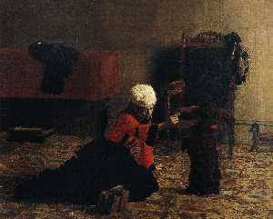 Thomas Eakins - Elizabeth Crowell with a ..