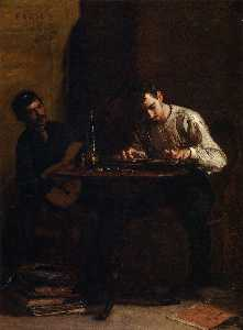 Thomas Eakins - Professionals at Rehearsa..
