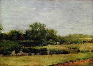 Thomas Eakins - The Meadows, Gloucester