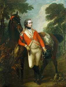 Thomas Gainsborough - Portrait of John Hayes St..