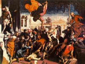 Tintoretto (Jacopo Comin) - The Miracle of St Mark Freeing the Slave