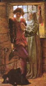 William Holman Hunt - Claudio and Isabella