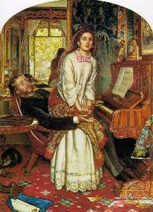 William Holman Hunt - The Awakening Conscience