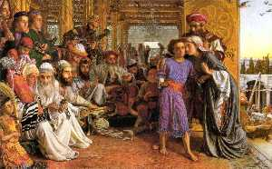 William Holman Hunt - The Finding of the Saviou..