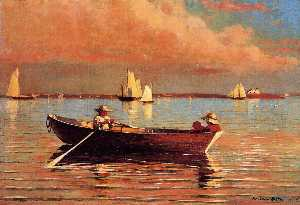 Winslow Homer - Gloucester Harbor