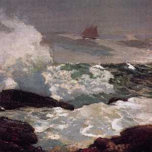 Winslow Homer - On a Lee Shore
