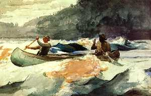 Winslow Homer - Shooting the Rapids