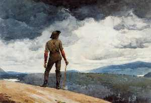 Winslow Homer - The woodcutter