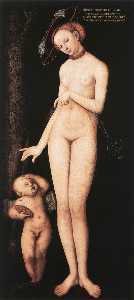 Lucas Cranach The Elder - Venus and Cupid 1