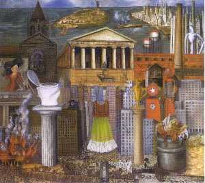 Frida Kahlo - My Dress Hangs There