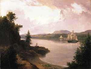 Thomas Doughty - View on the St. Croix Riv..