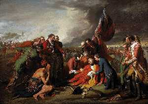 Benjamin West - The Death of General Wolfe