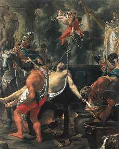 Charles Le Brun - Martyrdom of St John the ..