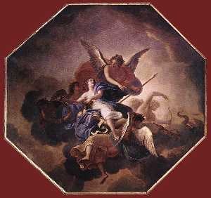 Charles Le Brun - The Triumph of Faith