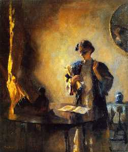Frank Weston Benson - Interior