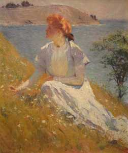 Frank Weston Benson - Margaret Strong