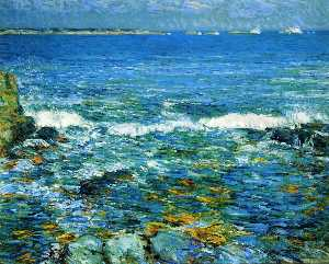 Frederick Childe Hassam - Duck Island from Appledor..