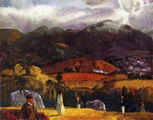 George Wesley Bellows - Golf Course - California