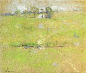 John Henry Twachtman - Path in the Hills, Branch..