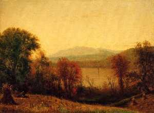 Thomas Worthington Whittredge - Autumn On The Hudson