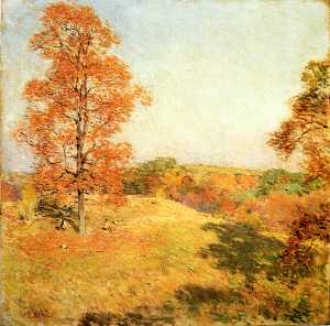 Willard Leroy Metcalf - Nut Gathering
