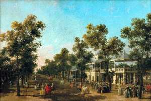 Giovanni Antonio Canal (C.. - View Of The Grand Walk, v..