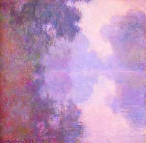 Claude Monet - Misty Morning on the Seine