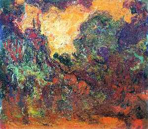 Claude Monet - The Artist-s House, View from the Rose Garden