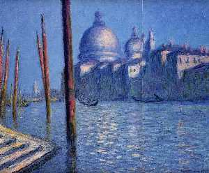 Claude Monet - The Grand Canal 3