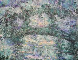 Claude Monet - The Japanese Bridge 3